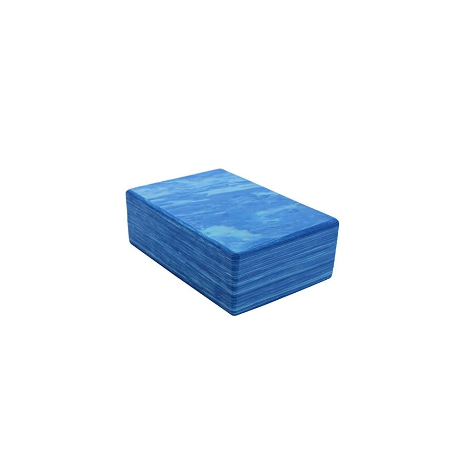 Zowaysoon 9x6x3 inch Yoga Block High Density Eco friendly EVA Foam Yoga Bricks 2 Pack