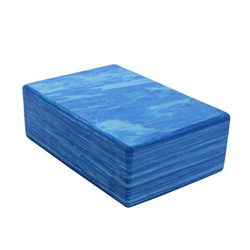 Zowaysoon 9x6x3 inch Yoga Block High Density Eco friendly EVA Foam Yoga Bricks 2 Pack