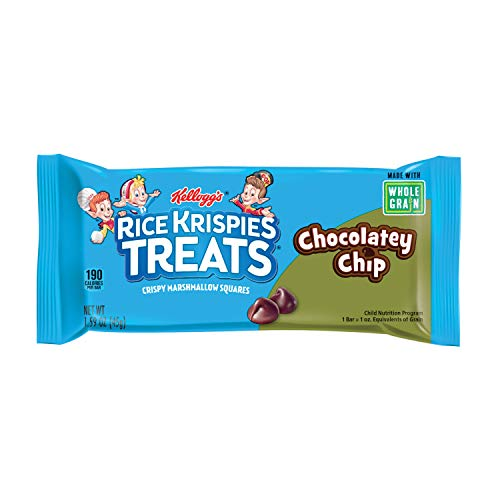 Rice Krispies Treats Whole Grain Chocolatey Chip, 80 Count (Best Whole Grain Chips)