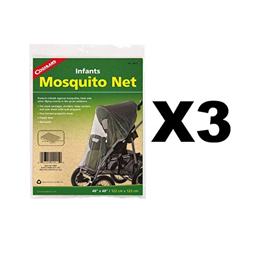 Coghlan's Infant Mosquito Net for Baby Carriages Strollers Bug/Insect - Infant Mosquito Net Coghlans