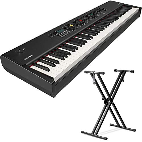 Yamaha CP88 88-Key Balanced Hammer Action Stage Piano with (Sustain Pedal and Keyboard Stand)