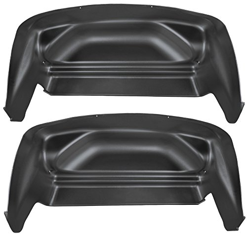 Husky Liners Rear Wheel Well Guards Fits 07-13 Silverado/Sierra (Rear Wheel Guards)
