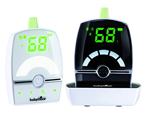 Babymoov Expert Care - Baby Monitor with High Performance Low Emission Safety Digital Green Technology