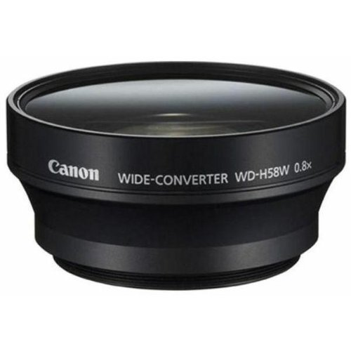 Canon Wide Converter WD-H58W for XF105, XF100, XA10 Professional Camcorder by Canon (Image #1)