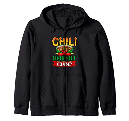 Competition Contest Winner - Chili Cook Off Champ Zip Hoodie