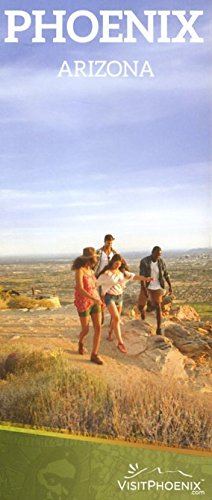 PHOENIX ARIZONA /LARGE FOLDOUT BROCHURE /ATTRACTIONS AND MAP+++ ebook