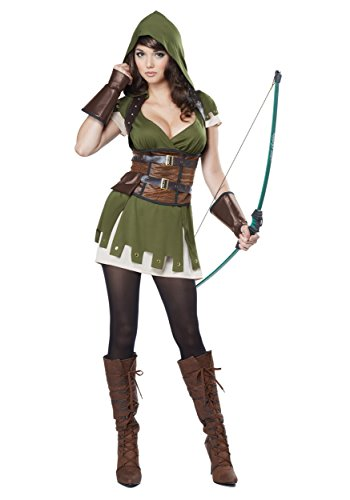 Lady Robin Hood (California Costumes Lady Robin Hood Adult)