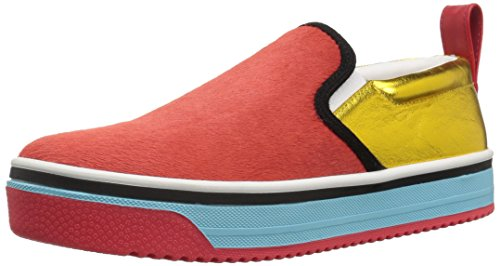 - Marc Jacobs Women's Love Mercer Slip ON Sneaker, red/Multi, 37 M EU (7 US)