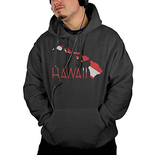 WAZH Personalized Popular Man Hoodies Pullover Hawaii Scuba Dive Flag Jacket Men's Casual Hoody Sweatshirt Kanga Pocket