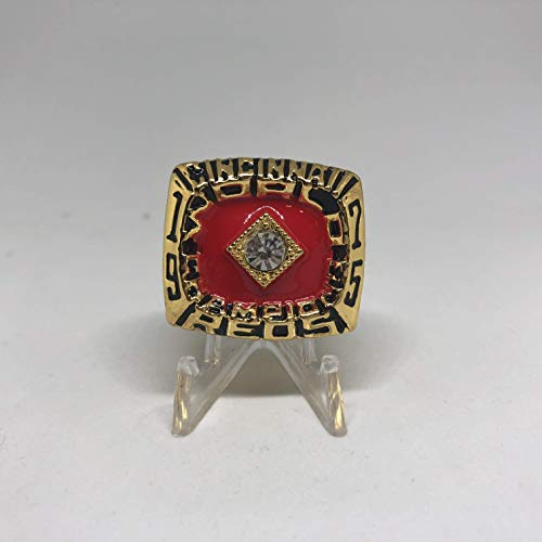 (Pete Rose MVP Cincinnati Reds High Quality Replica 1975 World Series Championship Ring Size 11-Gold Color US SHIPPING)