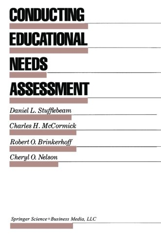 Conducting Educational Needs Assessments (Evaluation in Education and Human Services)