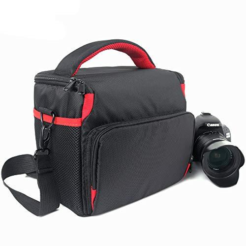 防水デジタル一眼レフカメラバッグケース Olympus OMD E-M10 EM5 Mark II EM10II EM10 III E-PM2 EPL7 E-PL6 PENFフォトレンズショルダーバッグ B07RDDFW6H
