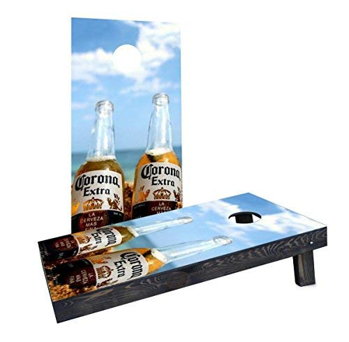 【最安値】 Custom Boards Cornhole B07J6HN2ZB Boards CCB1028-2x4-AW Corona Bottles by by the Beach Cornhole Boards [並行輸入品] B07J6HN2ZB, 和楽器専門の森乃屋:268dc551 --- arianechie.dominiotemporario.com