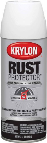 Krylon K06903907 Rust Protector Primers, White (White Rust Spray Primer)