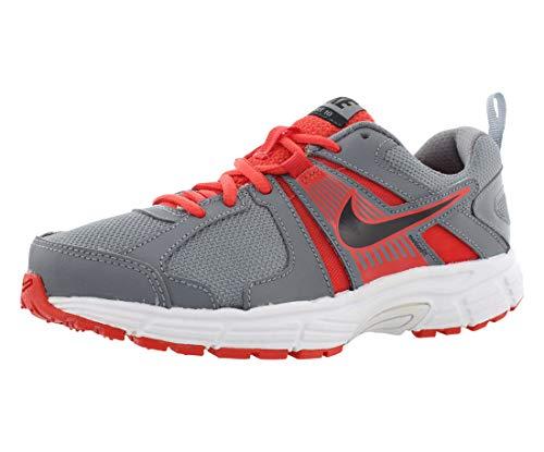 (Nike Kids Dart 10 (GS/PS) Cool Grey/Black/Lt Crmsn/White Running Shoe 6 Kids)
