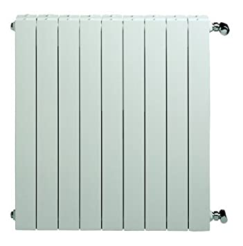 Voltman TACALIDC0580812B - Radiador de aluminio, agua caliente, 90 cm x 58 cm x