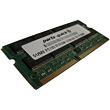 512MB PC133 SDRAM 144 pin SO-DIMM Memory RAM for Apple iBook G3 300MHz 366MHz 466MHz Clamshell (PARTS-QUICK BRAND)