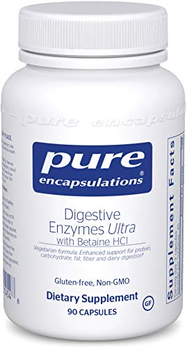 Pure Encapsulations – Digestive Enzymes Ultra with Betaine HCl – Comprehensive Blend of Vegetarian Digestive Enzymes with Betaine HCl – 90 Capsules Review
