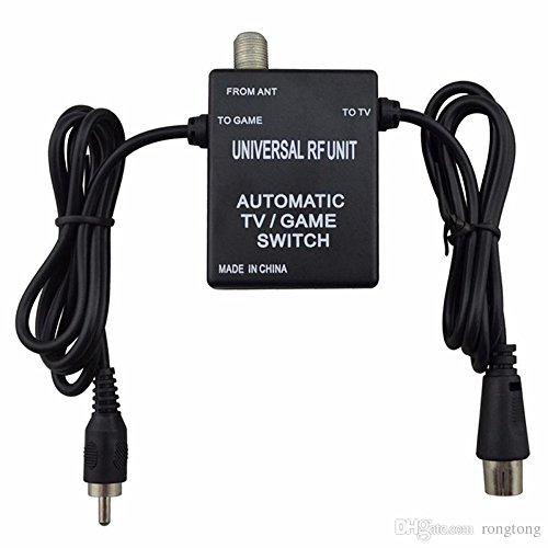 RF Switch Adapter (N64-GameCube-Dreamcast-PlayStation) Universal