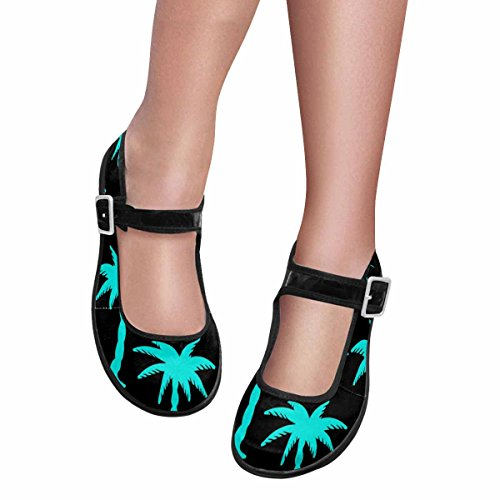 InterestPrint Womens Comfort Mary Jane Flats Casual Walking Shoes Multi 3 pCSvt