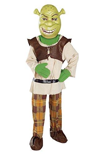 [Shrek Child's Deluxe Costume And Mask, Shrek Costume] (Shrek Deluxe Childrens Costumes)