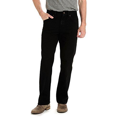 LEE 20203 Men's Regular Fit Bootcut Jeans, Double Black - 33W x 29L