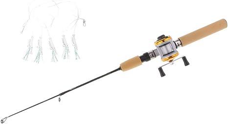 perfeclan Micro Spinning Rod Caña De Pescar Telescópica Portátil ...