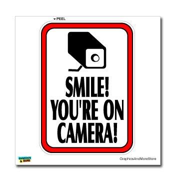 Smile Youre Camera Video Surveillance