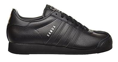 Adidas Samoa Men's Shoes Black/Black/Metallic Silver g22596