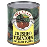 De Lallo, Tomatoes, Crushed In Juice, 28.00 OZ (Pack of 6)
