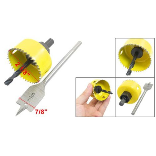 uxcell® Door Knobs 2 1/8\  Hole Saw Diameter Wood Bit Drilling Tool Levels Amazon.com Industrial \u0026 Scientific  sc 1 st  Amazon.com & uxcell® Door Knobs 2 1/8\
