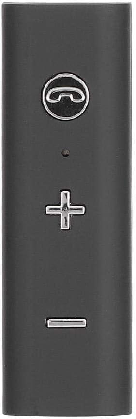 Receptor de audio Bluetooth, altavoz para automóvil 2 en 1, receptor de audio Bluetooth con micrófono de reducción de ruido HD, distancia de transmisión de 10 m, compatibilidad universal con receptor