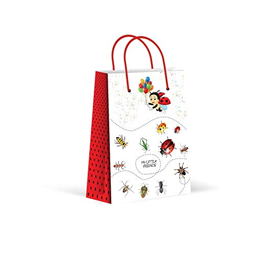 Premium Lady Bug Party Bags, Party Favor Bags,