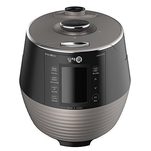 Dimchae-A060USTSL-Premium-Pressure-Rice-cooker-Silver