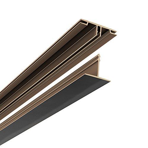 Grid Kit - CeilingMAX 100 sq. ft. Black Surface Mount Grid Kit