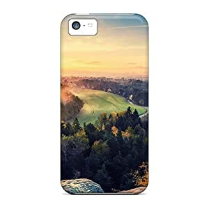 DrunkLove Iphone 5c Hybrid Tpu Case Cover Silicon Bumper Lovely Hdr Landscape