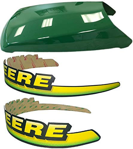 Hood Decal Set - Kumar Bros USA New Upper Hood with LH & RH Decal Set Fits John Deere LT133 LT155 LT166 LTR155 LTR166