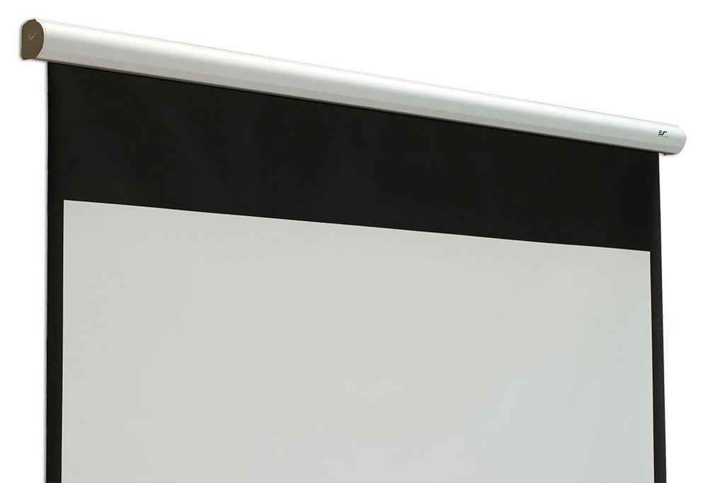 amazoncom elite screens spectrum2 120inch 169 12inch drop electric motorized drop down projection projector screen spm120he12 home audio u0026