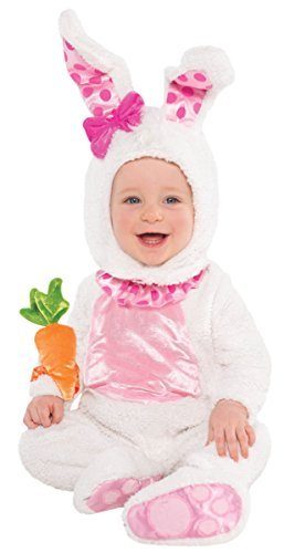 Scary Easter Bunny Costumes (Infant Sized Wittle Wabbit Costume 6-12 Months)