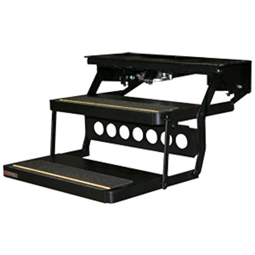 Kwikee 0143.1026 Lippert 372261 32 Series Double Tread Electric Step by Kwikee (Image #1)