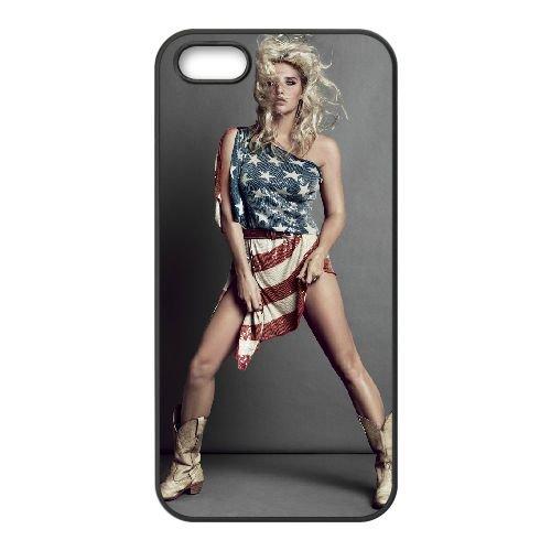 Ke$Ha 004 iPhone 5 5S Handyfall hülle schwarz Handy Fallabdeckung EOKXLLNCD25177
