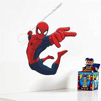 Spiderman Pegatinas de Pared Para la Decoración Del Hogar Sala de ...