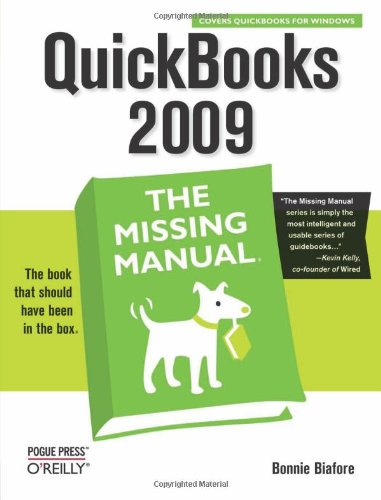 Read Online QuickBooks 2009: The Missing Manual PDF