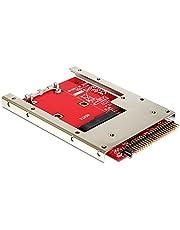 DeLOCK 62495 Tarjeta y Adaptador de Interfaz Interno mSATA - Accesorio (IDE, mSATA, 98 mm, 70 mm, 7 mm)