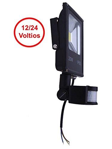 Foco LED 12V - 24V / 20W y Sensor Movimiento / Presencia (PIR) Nuevo