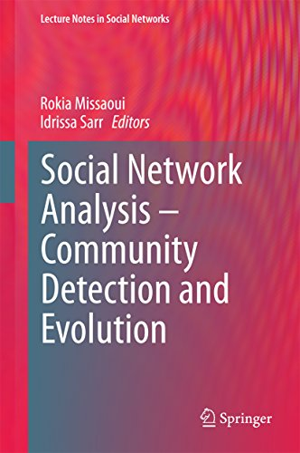 Download Social Network Analysis – Community Detection and Evolution (Lecture Notes in Social Networks) Pdf