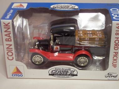 Gearbox Citgo 1918 Ford Pickup Coin Bank