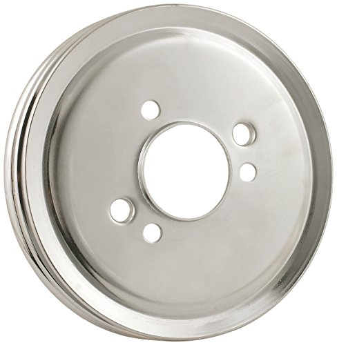 Mr. Gasket 8824 Chrome Plated Steel Engine Pulley by Mr. Gasket (Image #1)