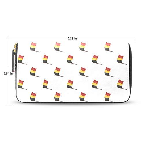 Women Many Belgian Flags...