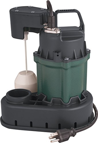 H2O PRO 1/3 HP Cast Iron Submersible Sump Pump - Engineered by Zoeller ()